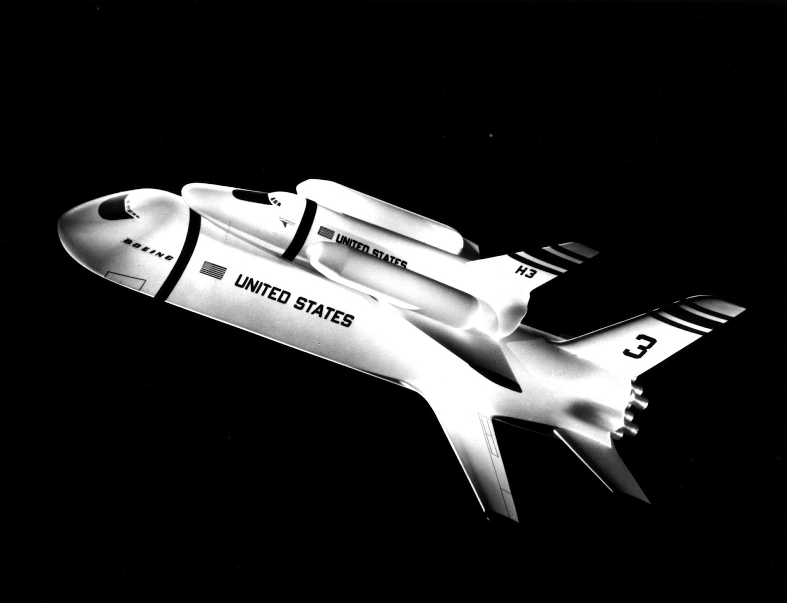 Early Space Shuttle Designs - Pics about space