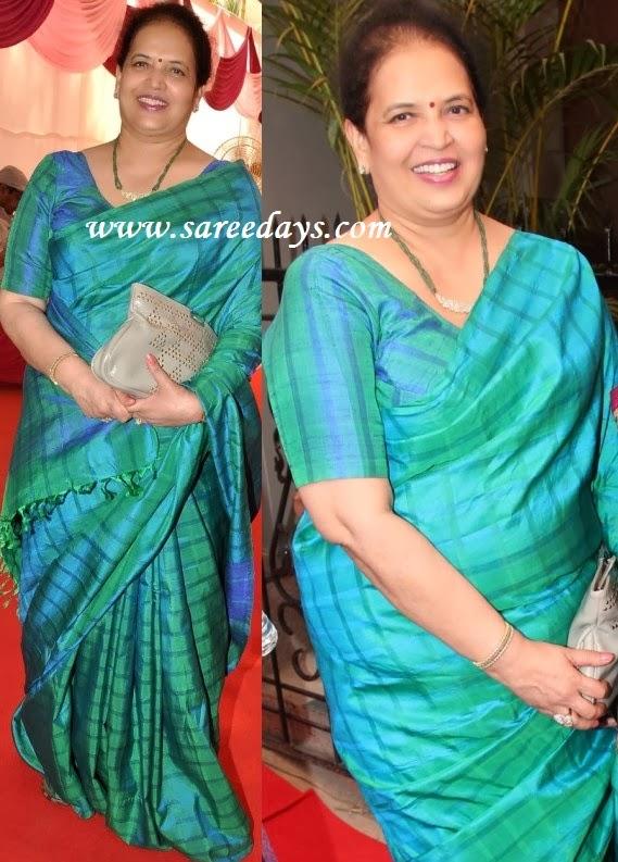 Latest saree designs vrinda rai in green uppada pattu saree checkout aishwarya raismother vrinda rai in green uppada pattu saree altavistaventures Image collections