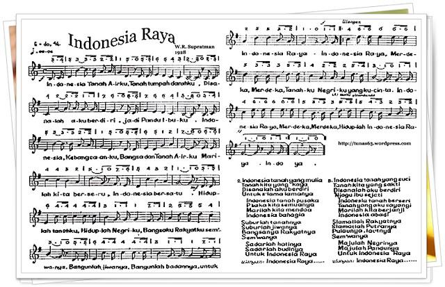 Video lagu Indonesia Raya