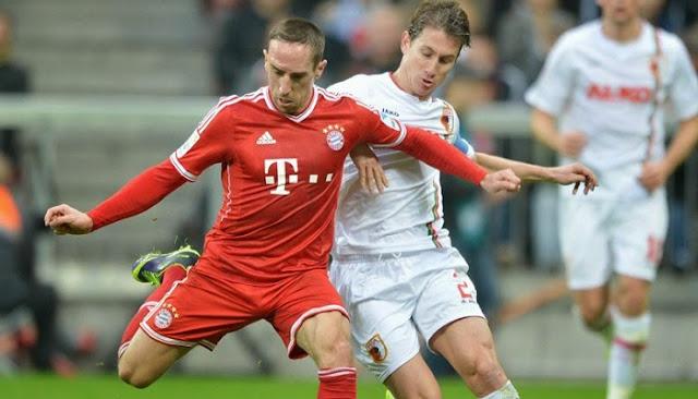 Bayern Munich vs Augsburgo en vivo
