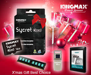 KINGMAX SycretCloud Christmas Gift