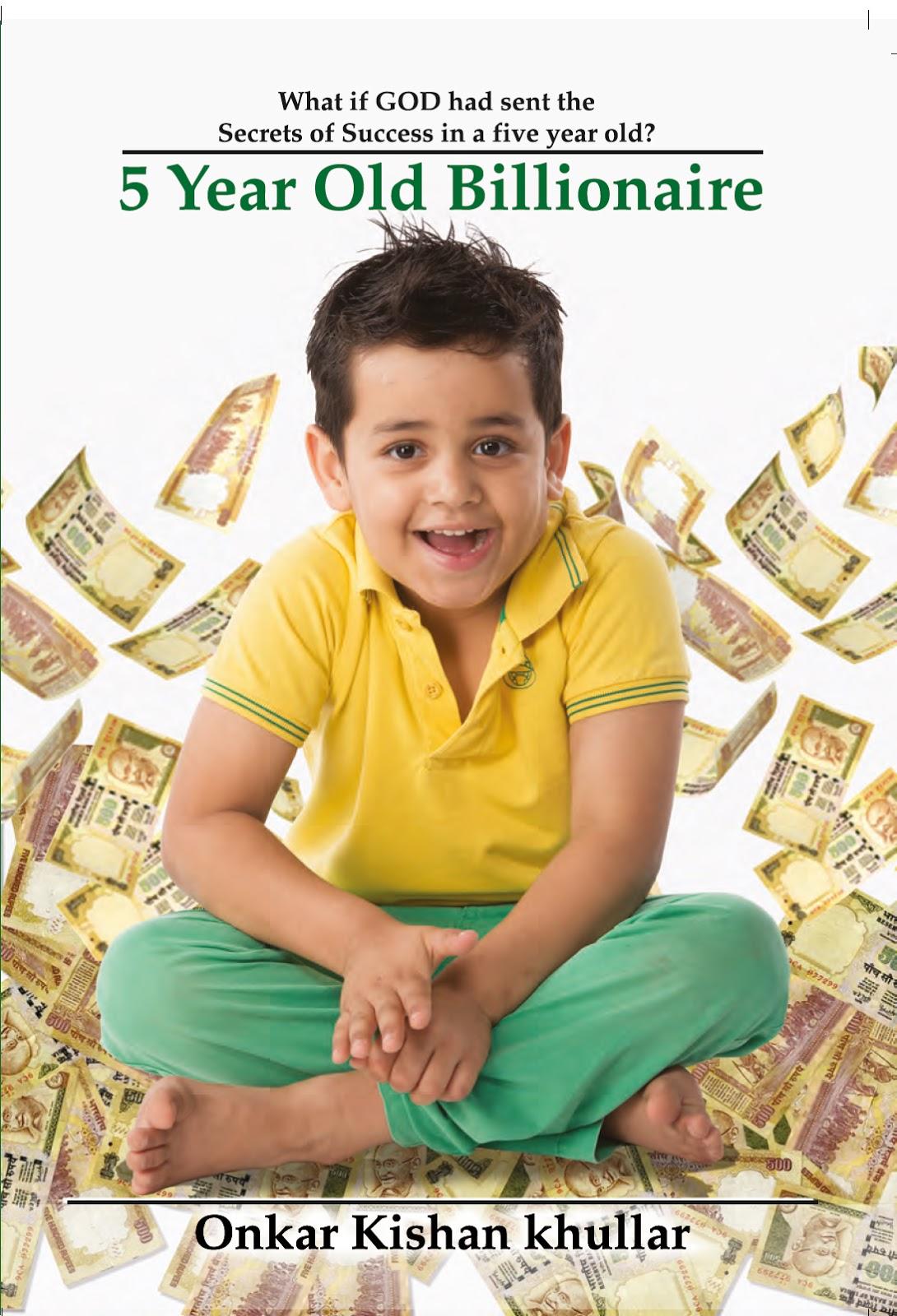 Book Review 5 Year Old Billionaire By Onkar Kishan Khullar