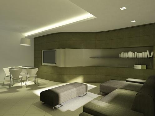 Consigli e idee per illuminare un soggiorno sun estetic - Idee illuminazione soggiorno ...