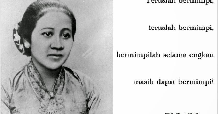 20 Ucapan Kata Mutiara Bijak dari RA Kartini