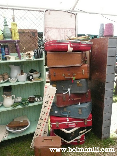 red door antiques, bel monili, country living fair