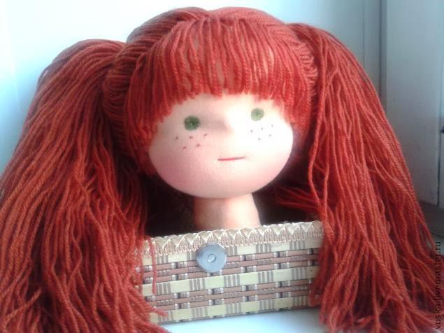 Веснушки для текстильной куклы