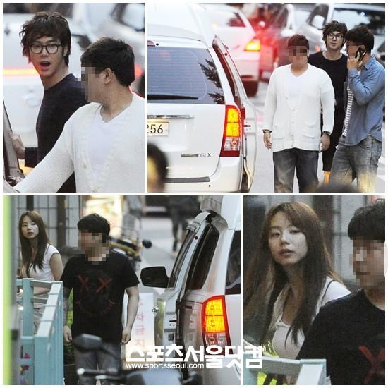 yunho and hwangbo dating