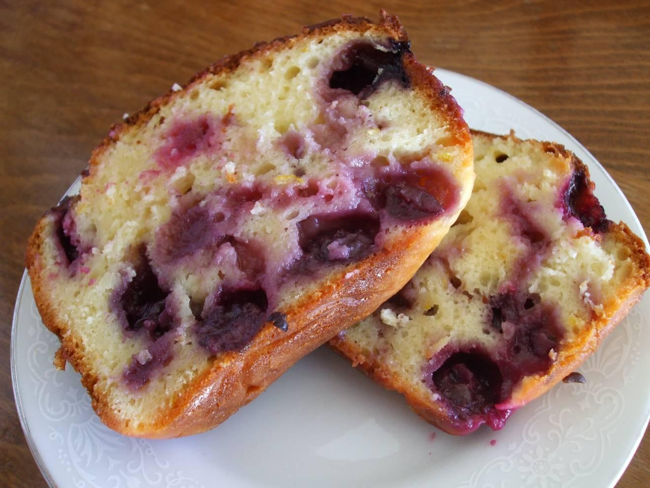 ... OF PINTEREST CREATIONS: day forty nine: lemon blueberry yoghurt cake