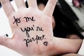Pues eso que tú para mi eres perfecto (L)