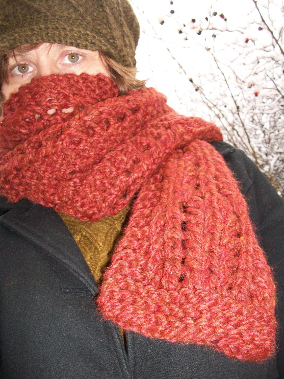 Knitting Pattern For Thick Scarf : Knitting Architect: Great Chunky Scarf knitting pattern