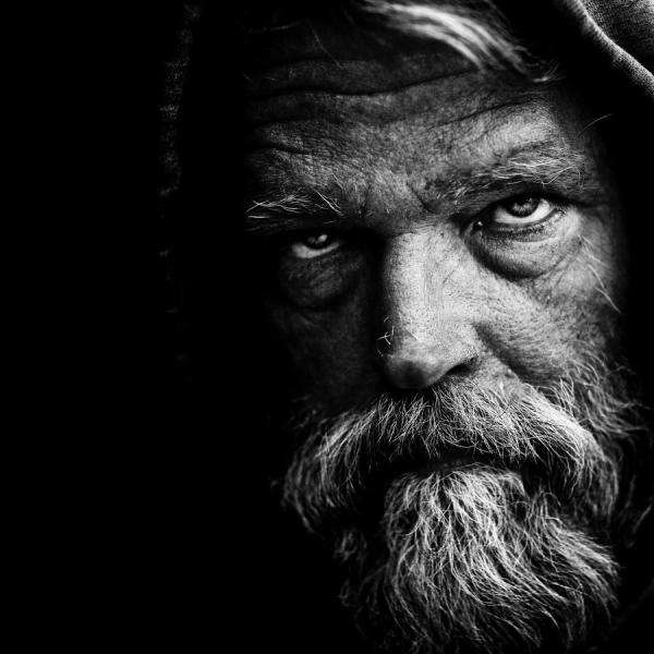 Doctor Ojiplatico. Lee Jeffries. †. Street Photographer