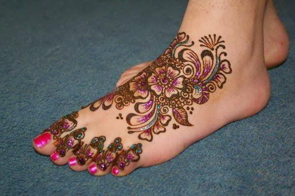 Mehndi For Dp : Mehndi designs dp makedes