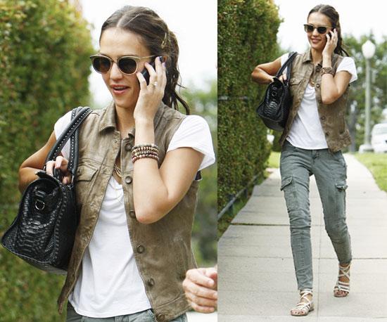 jessica alba fashion style. style of Miss Jessica Alba