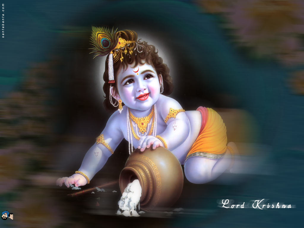 Cute Child Lord Krishna