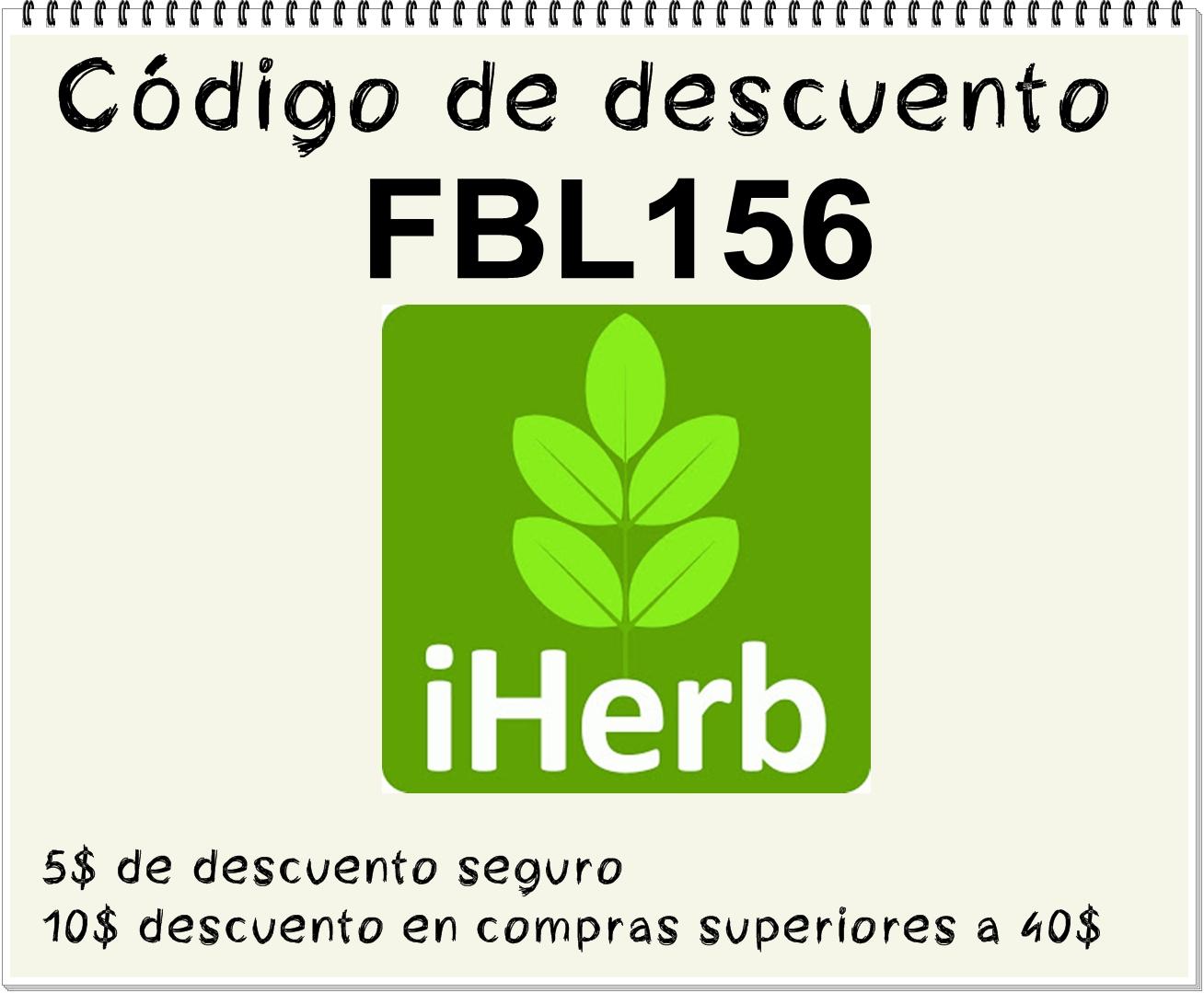 Descuento en iHerb