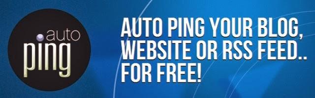 Cara Pasang Auto Ping Pada Blog Atau Website