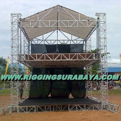 Jual Rigging Stage FOH mixer kontrol