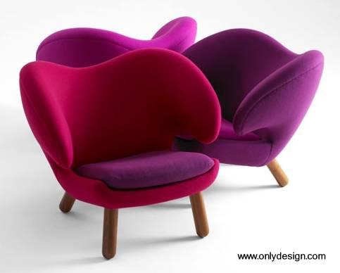 Arquitectura de casas sillones modernos de un cuerpo daneses - Sillones diseno moderno ...