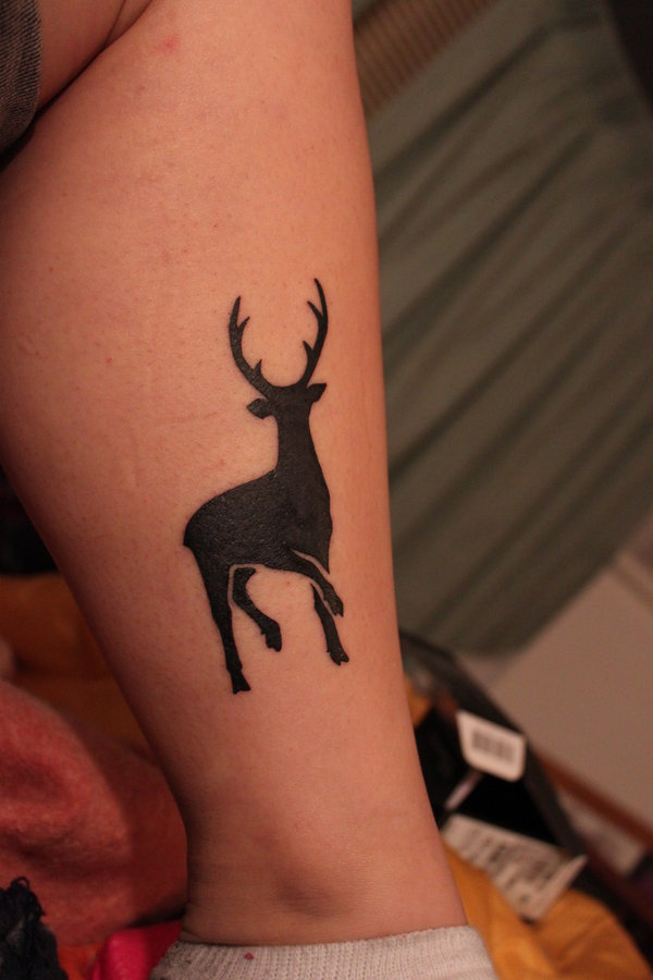 Deer Tattoos For Girls : Wild tattoos deer tattoo pics