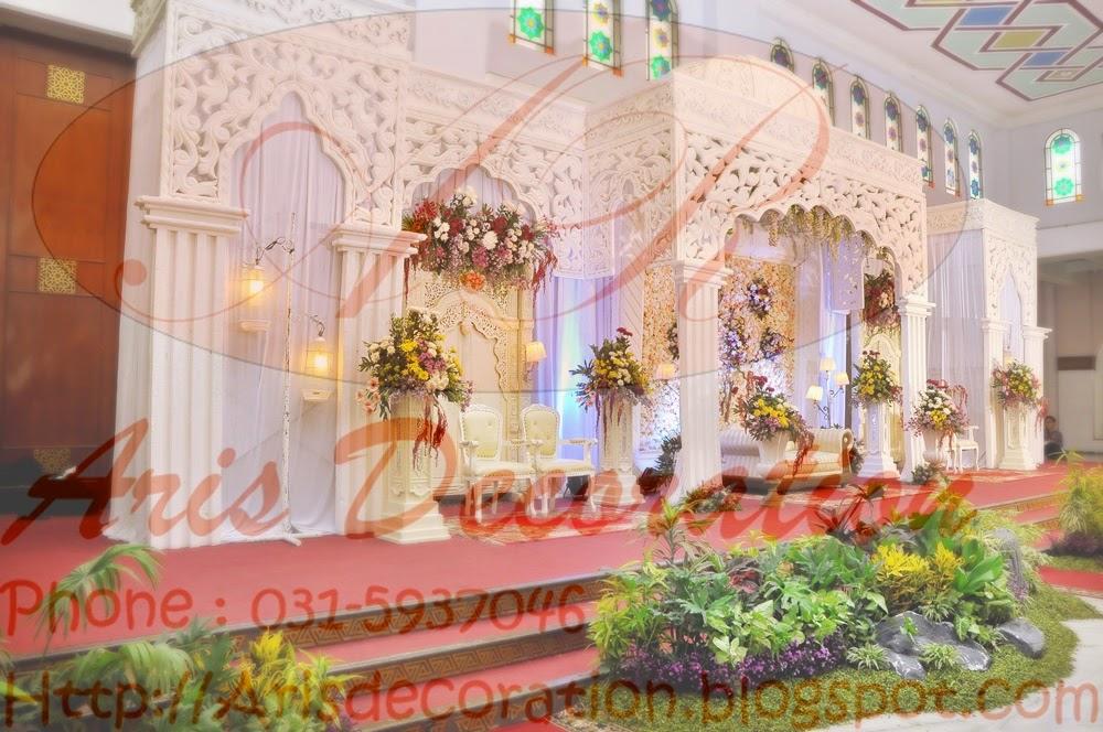 dekorasi muslim aris decoration