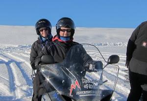 Langjökull = Long Glacier in Icelandic