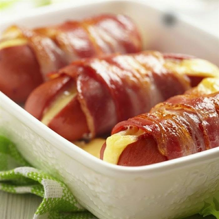 bacon wrapped, bacon, sweet bacon, bacon, tocino, beicon, panceta, recetas de cocina, recetas con bacon, bacon cheese fries, patatas con bacon, bacon al horno, mc wrapped, wrapped