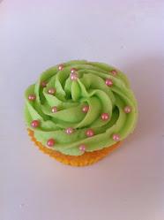 Polka dots Cupcake