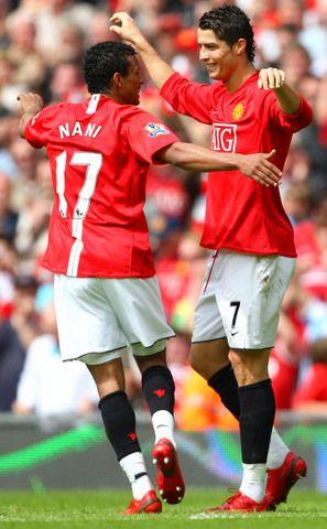 Nani and ronaldo