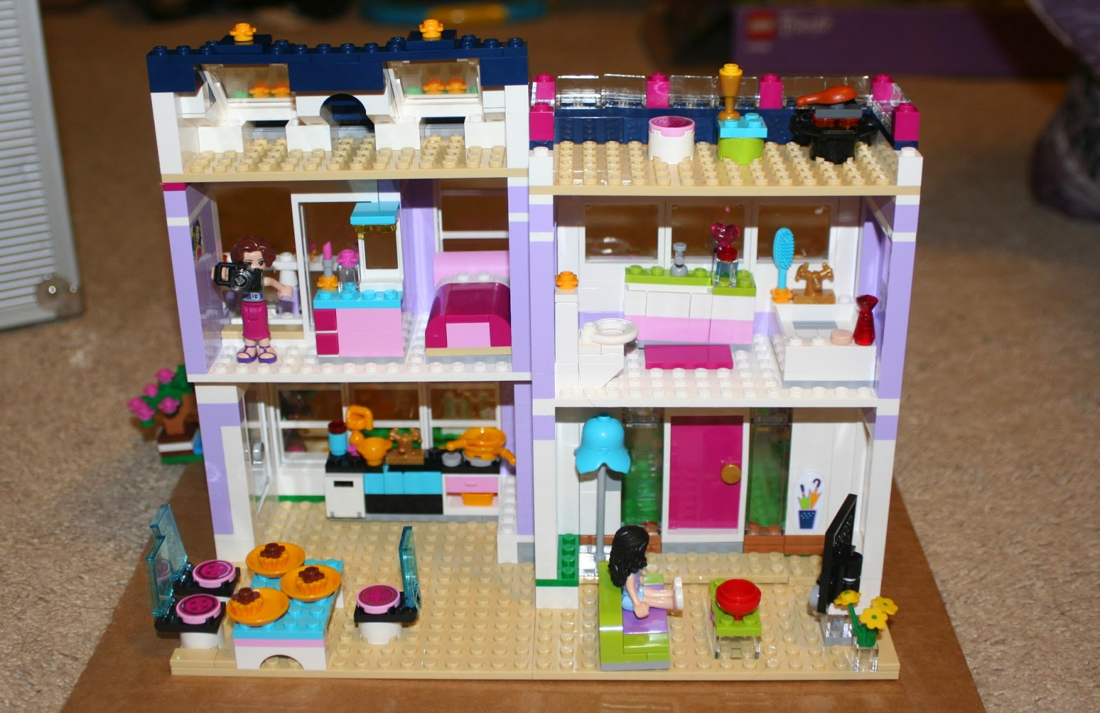 Lego Friends Emma S House Jood Misconstrued