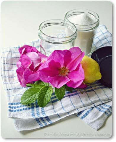 rosenmarmelad, rosmarmelad, rosor i mat, baka med rosor, edible roses, rose marmalade