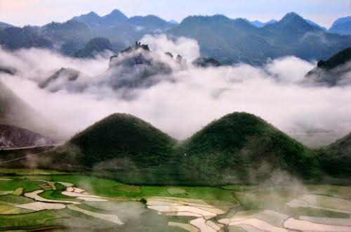 du lịch hà giang - núi đôi quản bạ