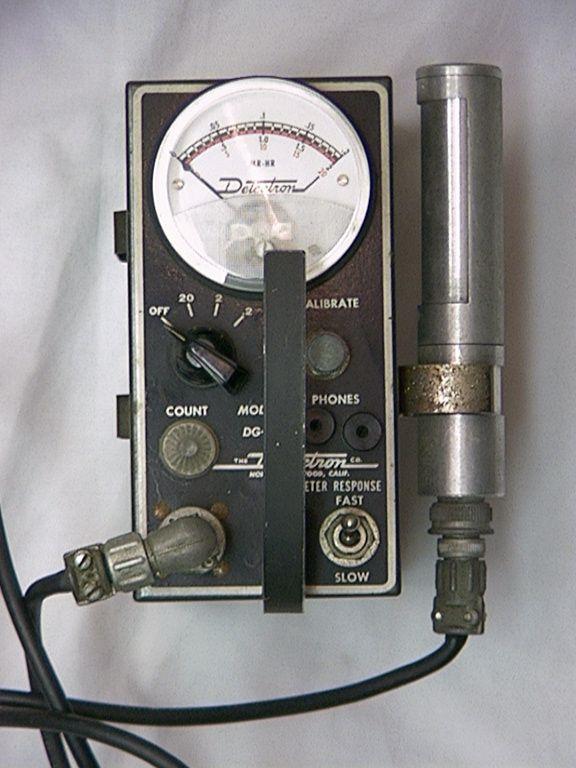 න්යෂ්ඨික විද්යාව: පරීක්ෂණාත්මක උපකරණ-Instruments