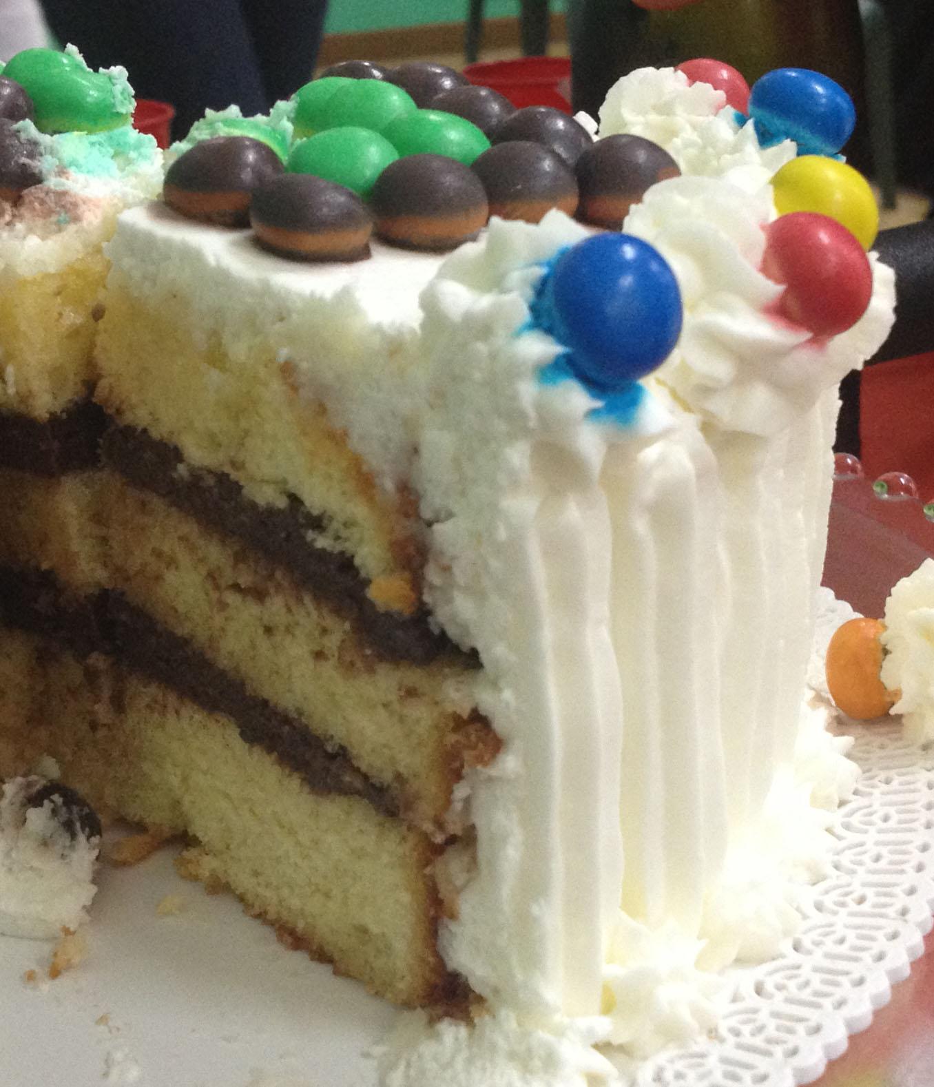 Terra e Farina: Torta pan di spagna e crema al cioccolato per la ...