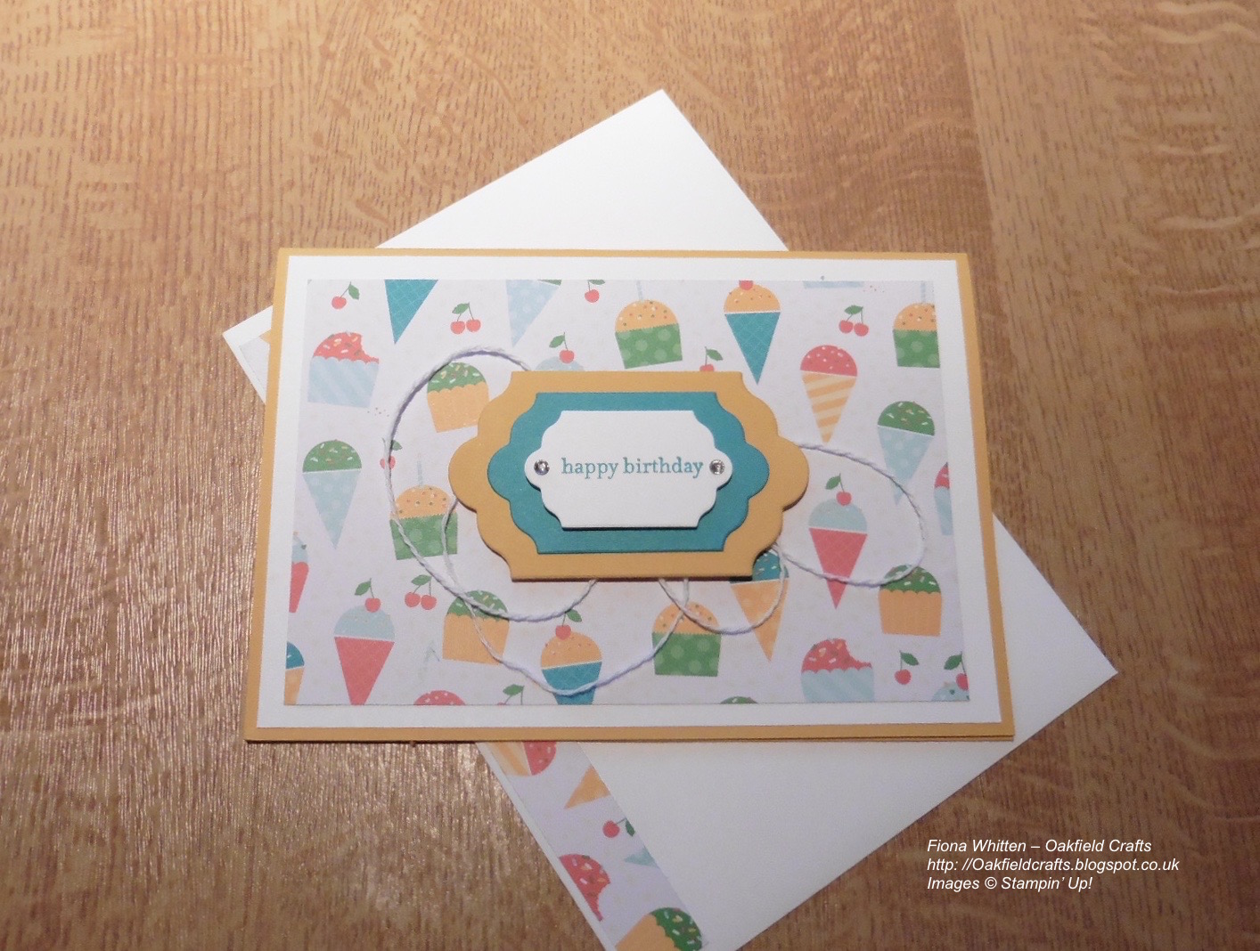 Oakfield crafts quick and simple cherry on top birthday cards quick and simple cherry on top birthday cards bookmarktalkfo Choice Image