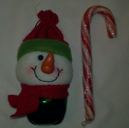 Inside Was A Christmas Ornament Bell Amp A Candy Cane