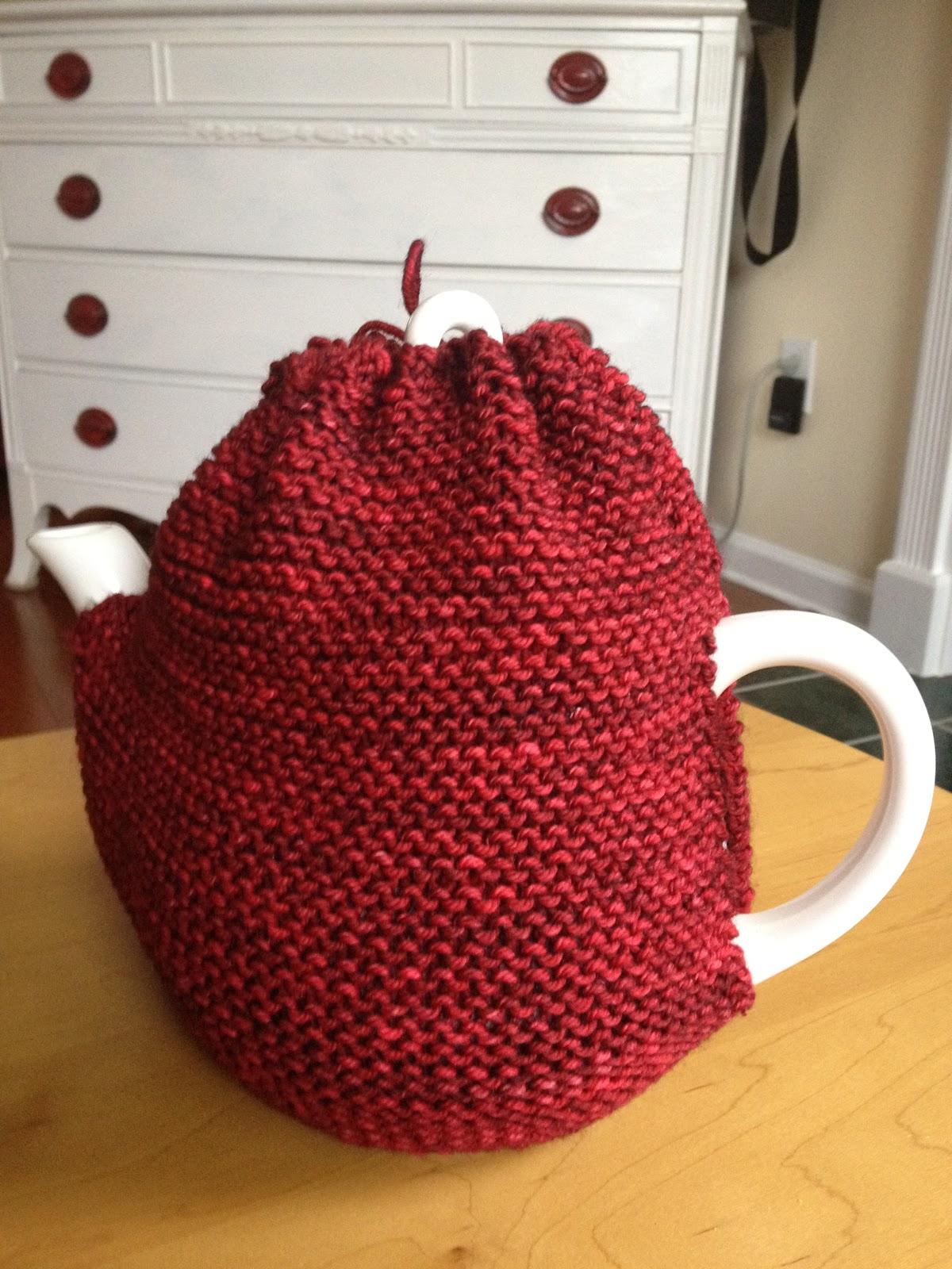 Brownie Knits: Quick Tea Cozy