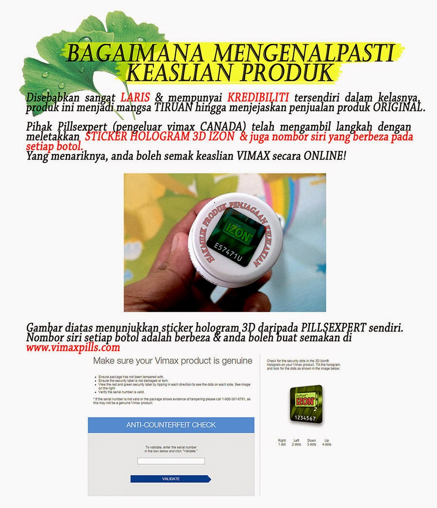 genuine product adalah