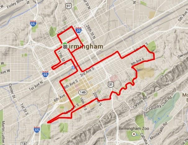Race report mercedes benz marathon february 22 2015 for Mercedes benz marathon birmingham