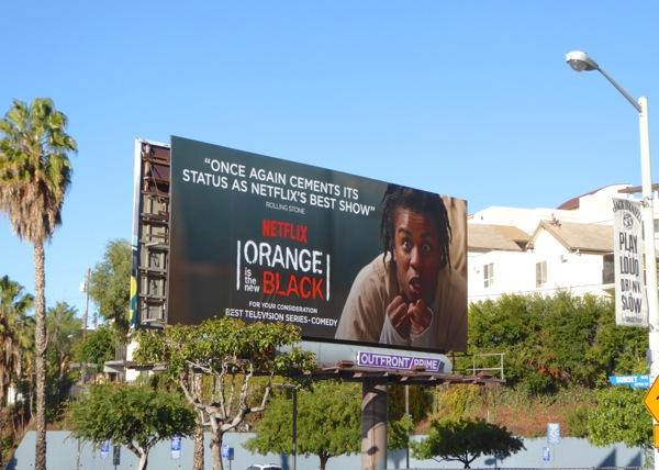 Orange is the New Black 3 Golden Globes 2016 billboard