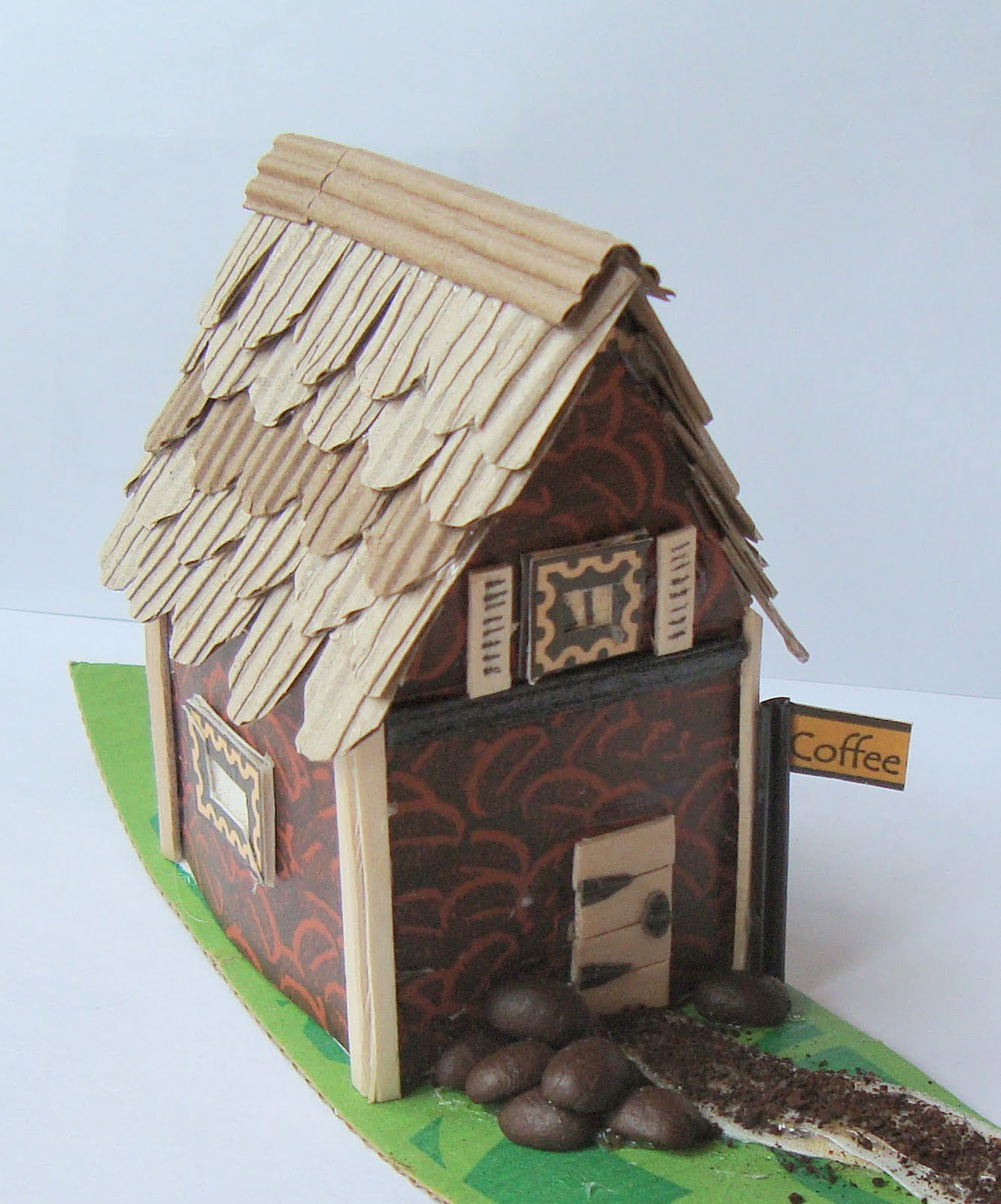 3D Paper House Patterns http://printkat.blogspot.com/2011/08/tiny-3d-house.html