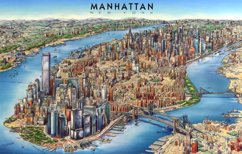 Manhattan new york for Vacanza a manhattan