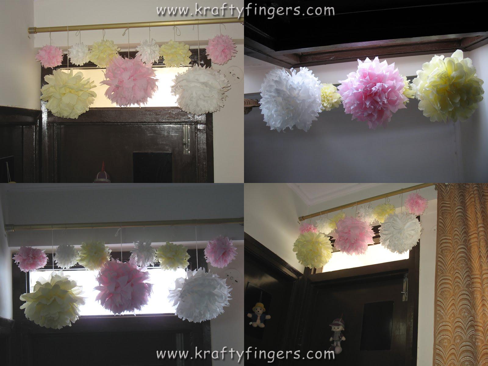 Paper Napkin Dahlias Flower Making Kraftyfingers