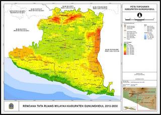 Jenis Peta Topografi yang Beredar di Indonesia
