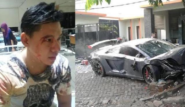 Pengemudi Lamborghini Yang Menabrak Penjual STMJ Hingga Pembelinya Tewas Tak Lagi Di Tahan Polisi