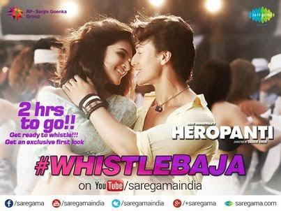 Whistle Baja Lyrics - Heropatni Movie Song
