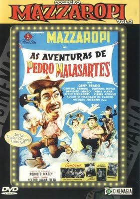 Capa - Mazzaropi: As Aventuras De Pedro Malazartes