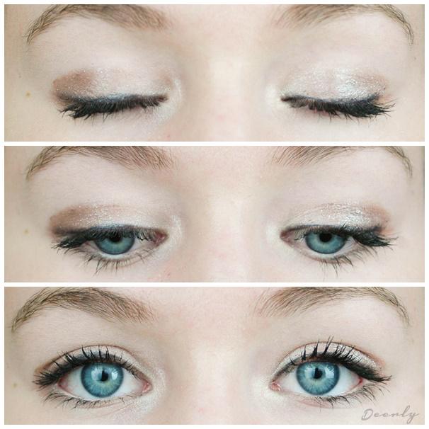 maquillage tuto yeux bleu. Black Bedroom Furniture Sets. Home Design Ideas