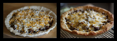 ground venison taco pie recipe ingredients photos