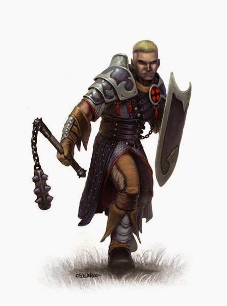 LONE WOLF - Loup Solitaire D20 Cleric_human_final