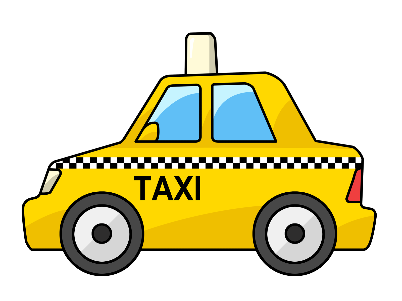Unfortunately not all cabs look as nice as this